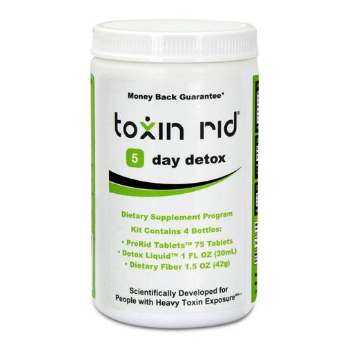 most use toxin rid program